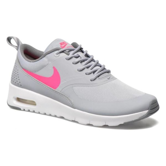 ir de compras botón Acostumbrados a  Nike Shoes | Nike Air Max Thea Grey Pink Youth 5 Womens 65 | Poshmark
